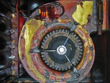 Hazardous fan motor